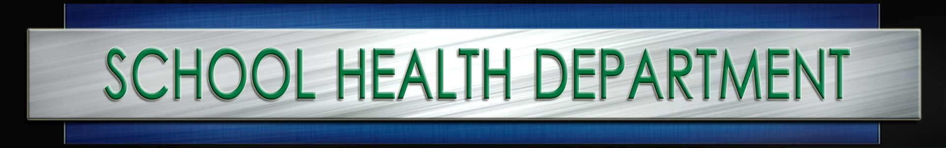 school health department header