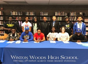 Athletic Signing Ceremony