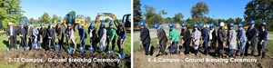 Winton Woods City Schools groundbreaking ceremony. Photo by Drew Jackson.
