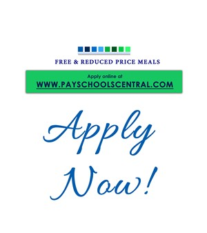 www.payschoolscentral.com for free and reduced meals graphic