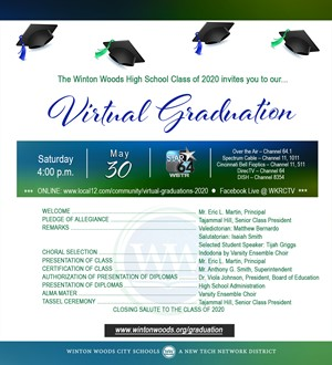virtual grad invitation