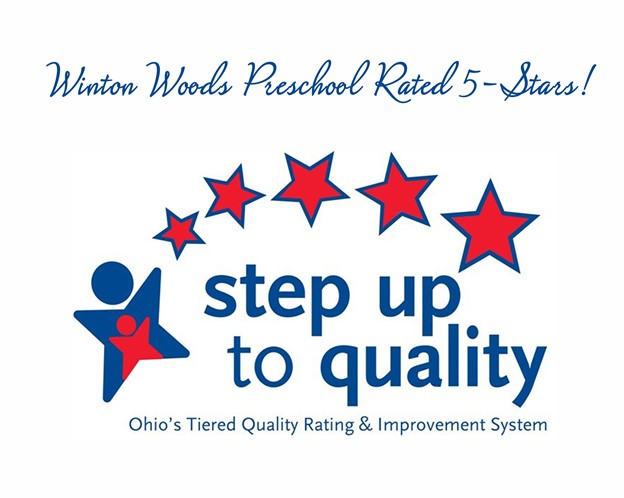 Winton  Woods Preschool Rated 5-Stars logo