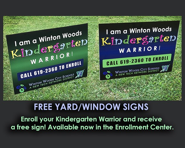 Kindergarten Yard Signs