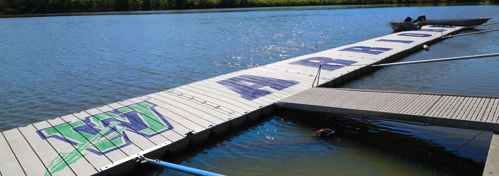 Warrior Dock for Crew at Winton Woods Lake
