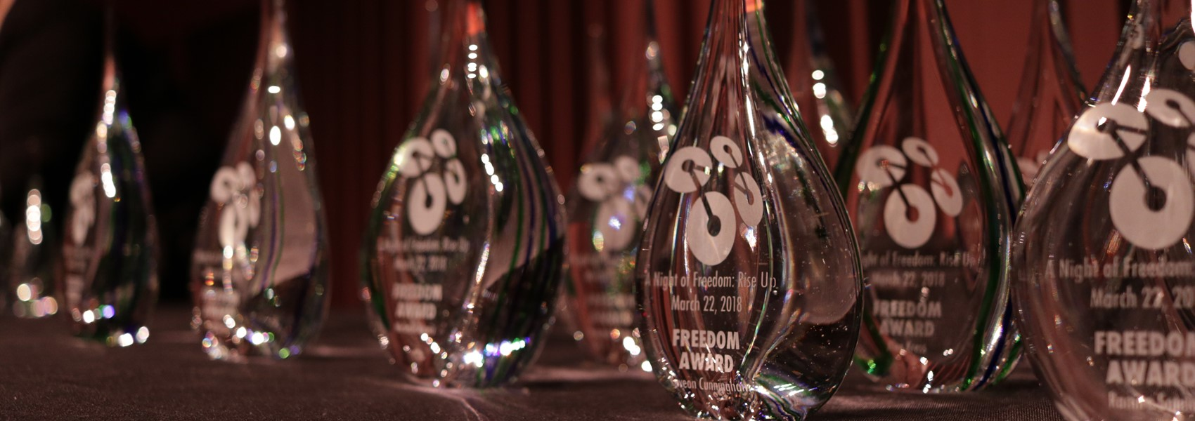 Freedom Awards from Neusole Glassworks