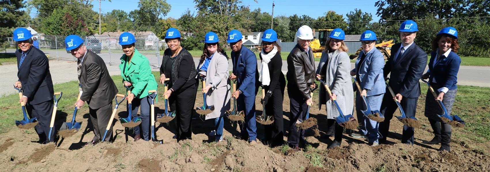 Ground breaking for the K6 campus
