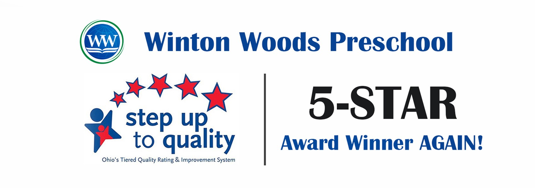 5 star award winner again for preschool