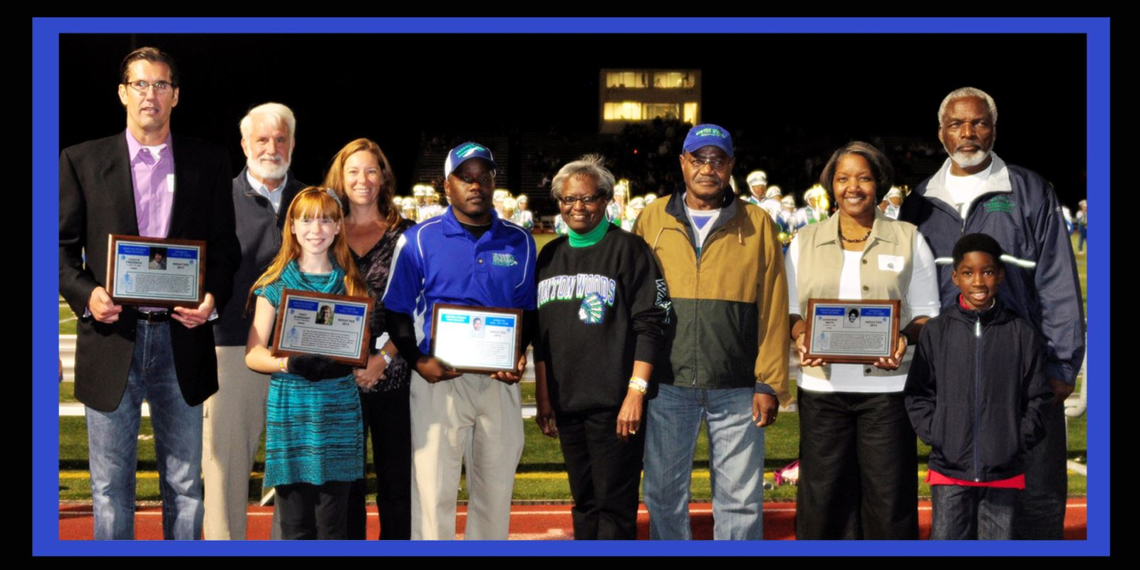 2013 athletic hall of fame members