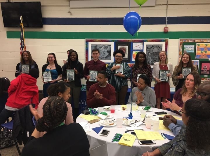 Third year award honors at Winton Woods High School's 2108 CSAC  Banquet. Photo by Diana Behrendt.