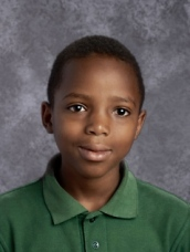 Winton Woods Middle School seventh grader Innocent Ntwali.