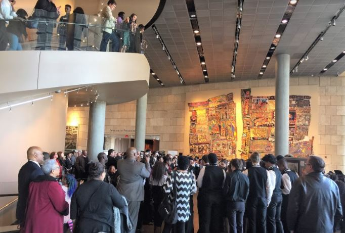Picture from the 2017 Night of Freedom event at the National Underground Railroad Freedom Center.