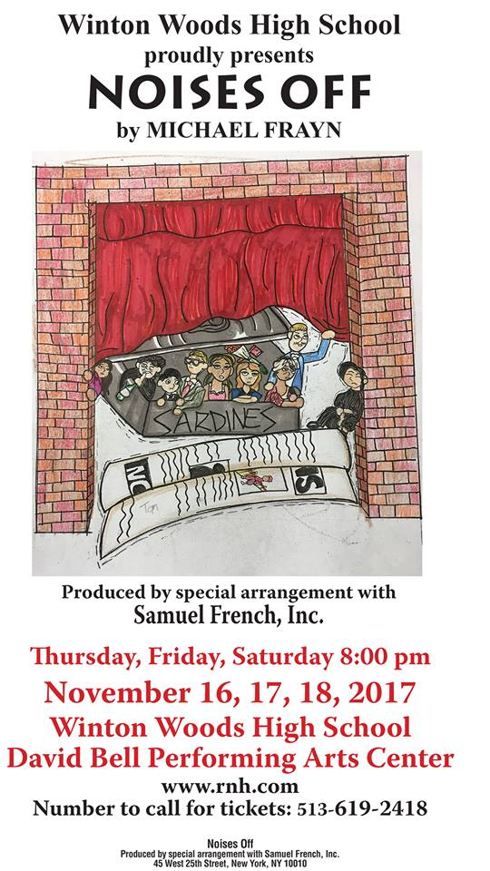 Winton Woods High School presents Noises Off