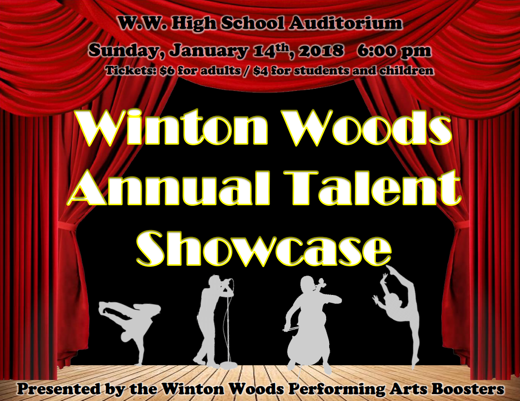 Talent Show Poster 2018