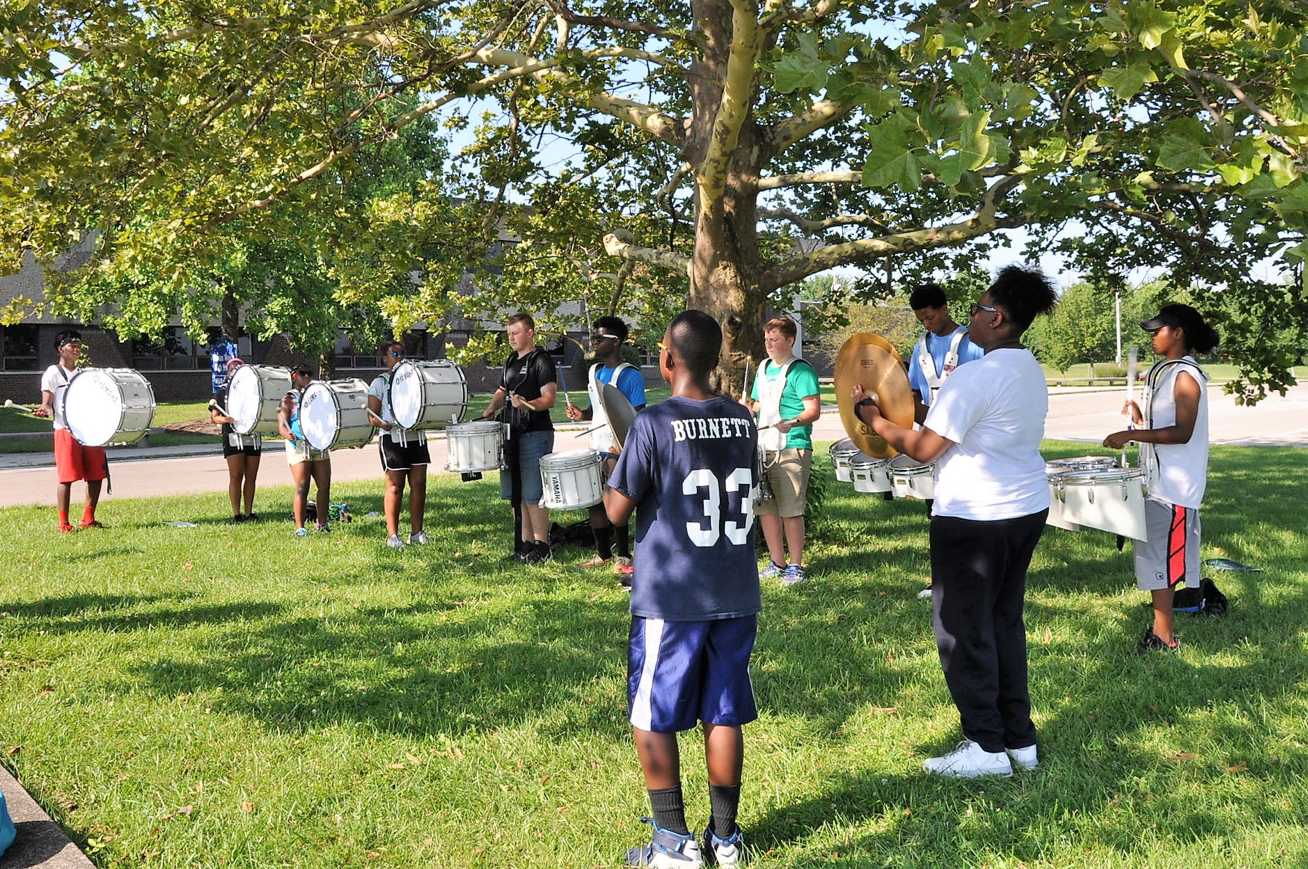 Drumline Means Sacrifice, Commitment for Winton Woods Band Students