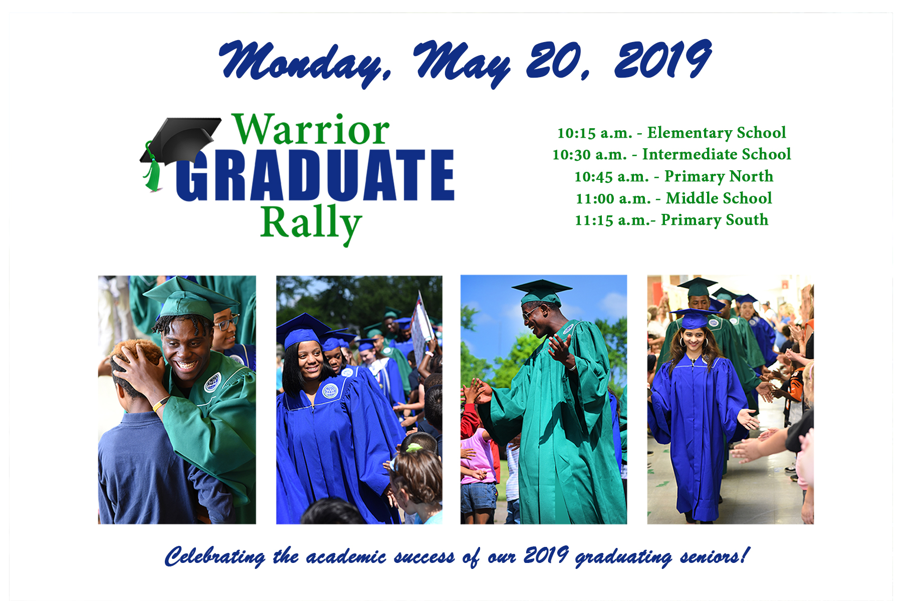 graduate rally invitation