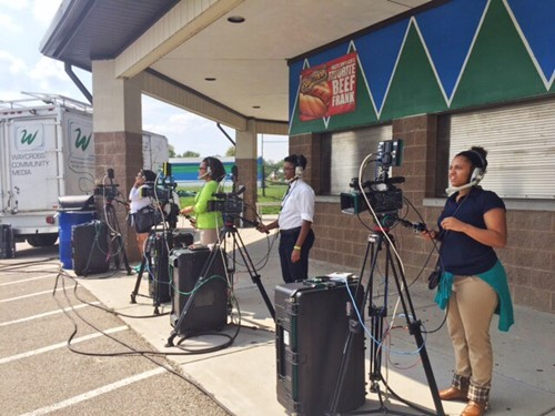 Winton Woods High School Students Get Hands On Media Experience From
