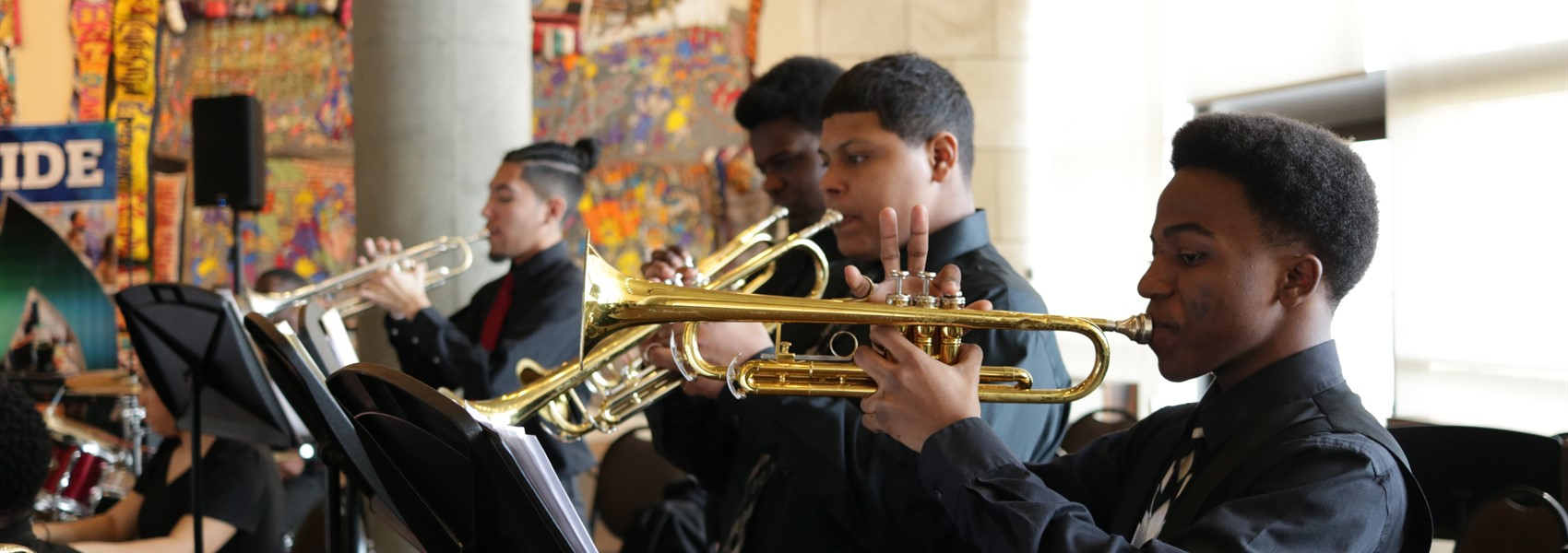 A Night of Freedom Jazz Band Performance