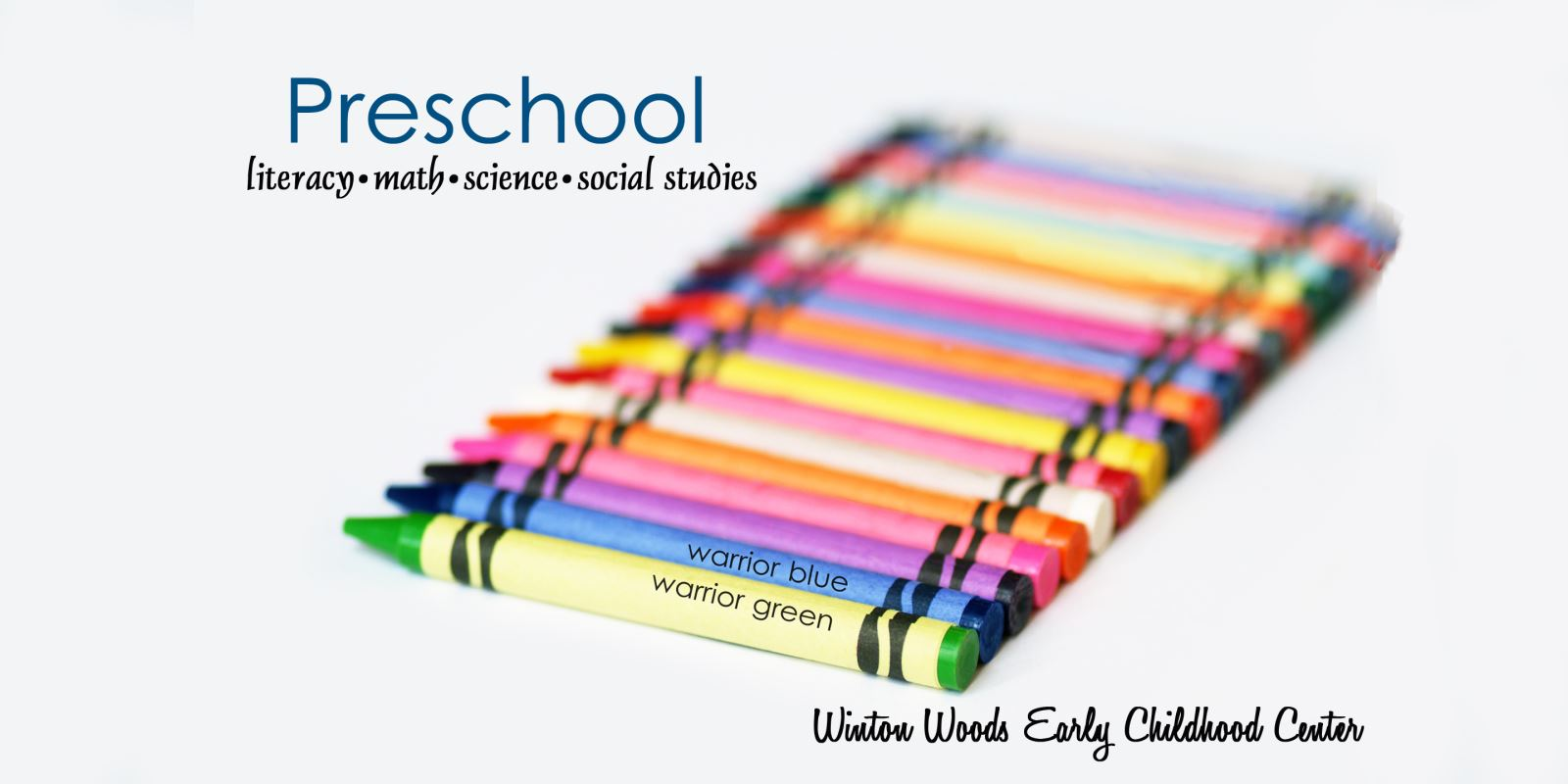 PICTURE OF CRAYONS FOR PRESCHOOL MARKETING