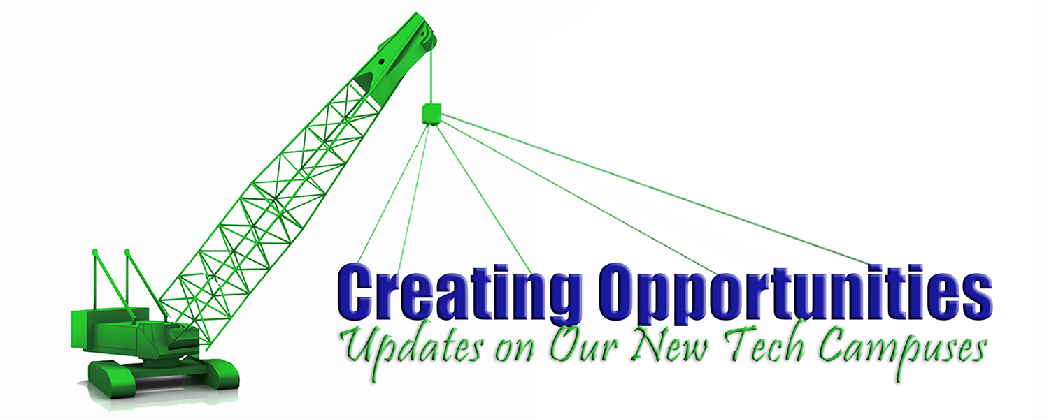 creating opportunities construction update logo