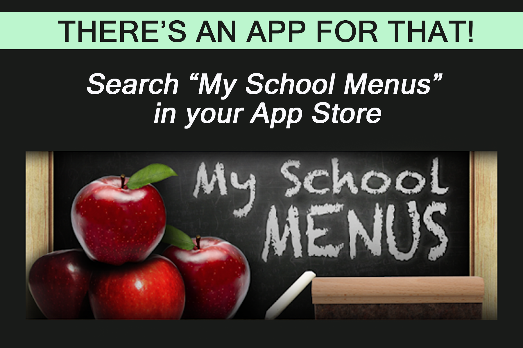 my school menus app graphic