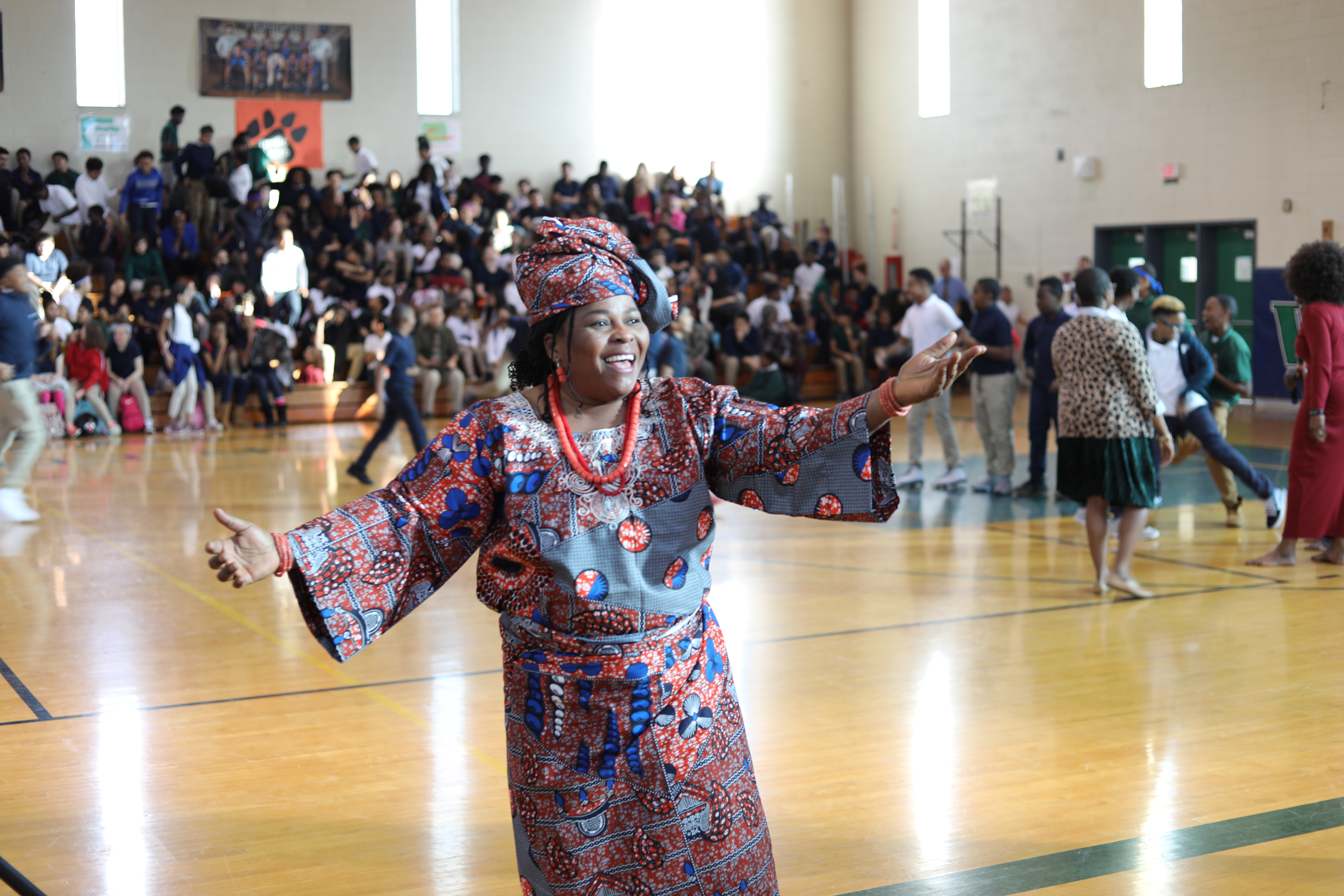 WWMS Black History Launch Assembly