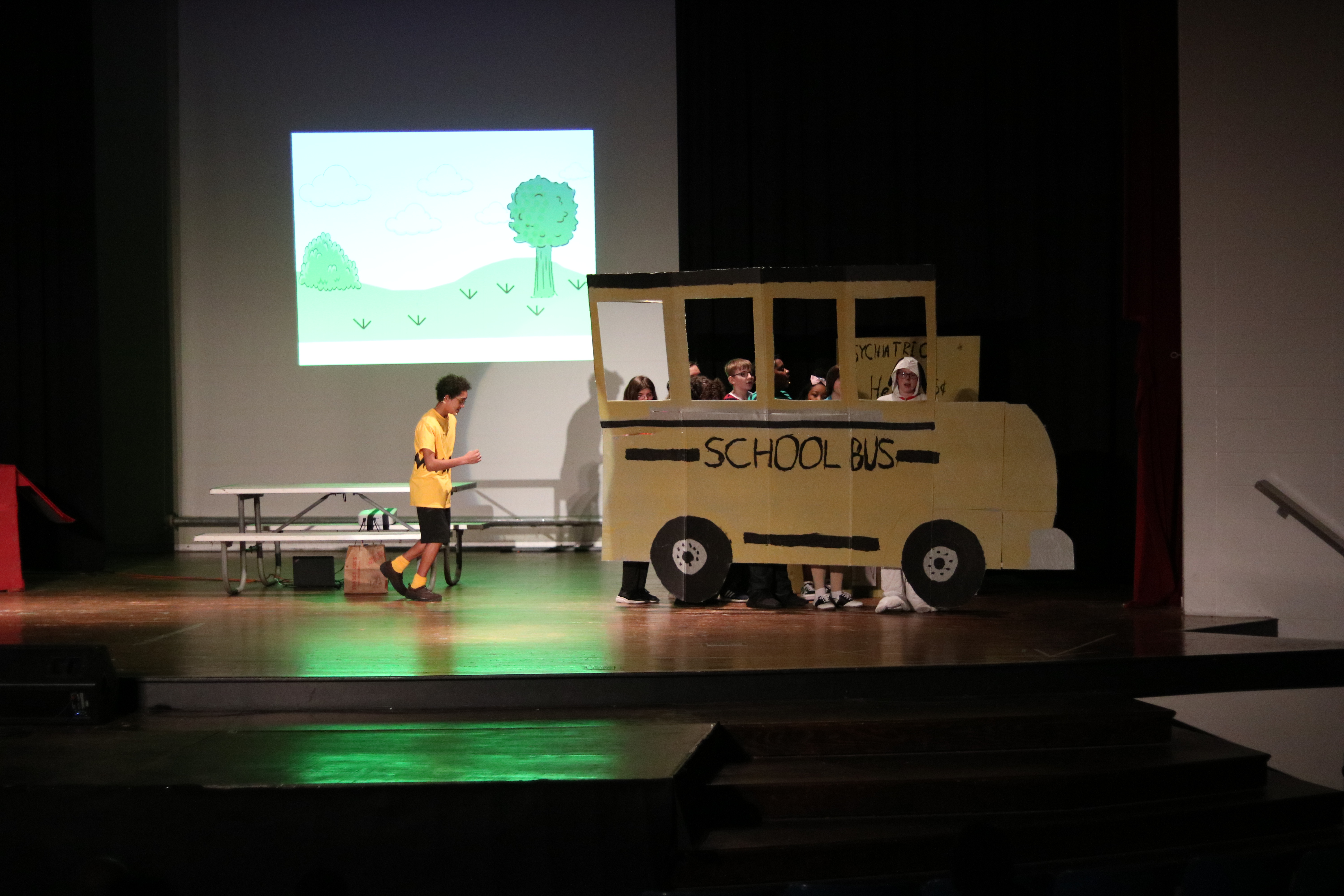 WWMS Spring musical You're A Good Man, Charlie Brown